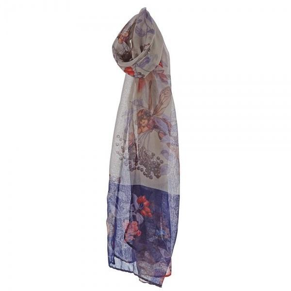 Flower Fairies Elderberry Ladies Scarf A28831