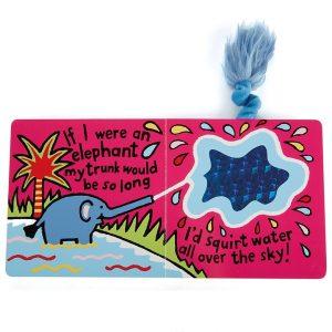 If I Were An Elephant Board Book jellycat