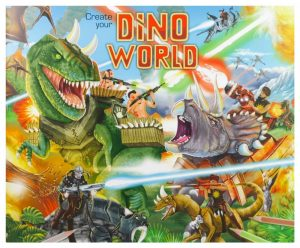 Create Your Own Dino World Sticker Book - Depesche