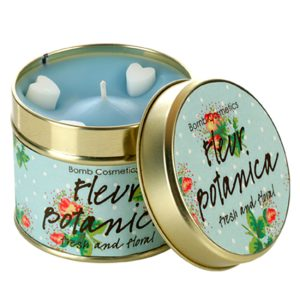 Fleur Botanica Tinned Candle - Bomb Cosmetics