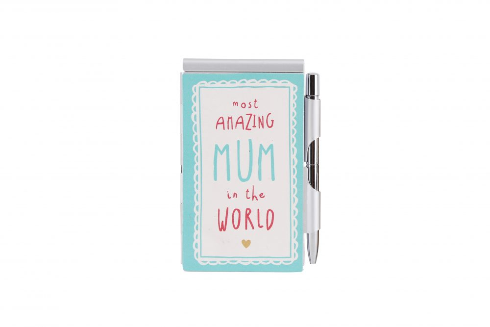Most Amazing Mum In The World Notebook and Pen