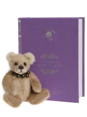 Bear-illiant, 13 cm – Charlie Bears Plush Hug Book Bear CB191971B