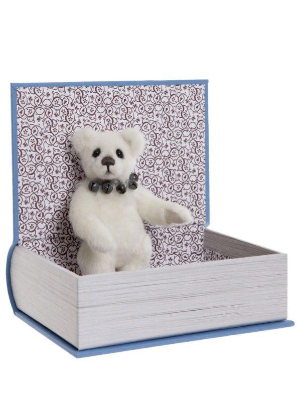Study Buddy, 13 cm – Charlie Bears Plush Hug Book Bear CB191971A