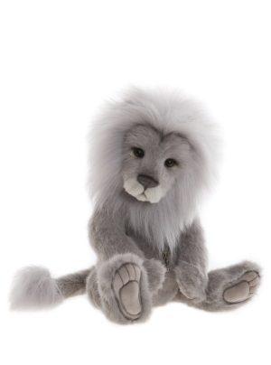 Clock Lion, 38 cm – Charlie Bears Plush CB191956