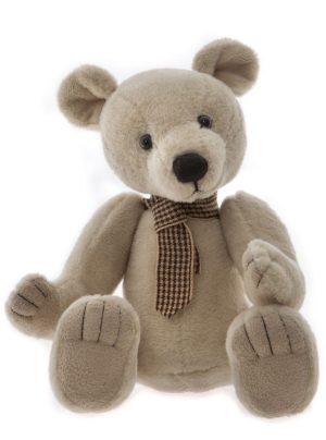 Globetrotter Bear, 18 cm – Charlie Bears Plush CB195199O