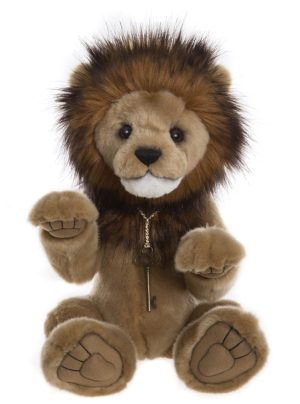 Goliath Plush Lion, 41cm - Charlie Bears CB195170