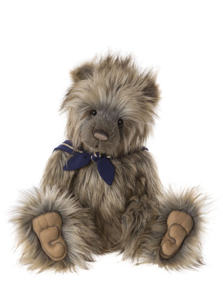 collectable jointed plush teddy bear by Charlie Bears CB191906A Candice