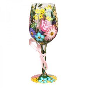 Lolita Spring 2018 Hand Painted Wine Glass