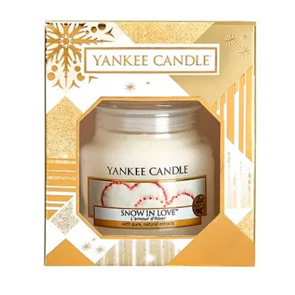 Yankee Candle Snow In Love Small Jar Gift Set