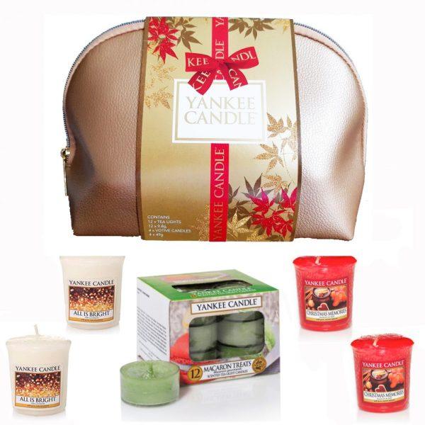 Yankee Candle Yankee Candle Christmas Cosmetic Bag Gift Set
