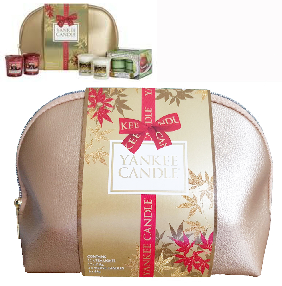 Yankee Candle Christmas Cosmetic Bag Gift Set