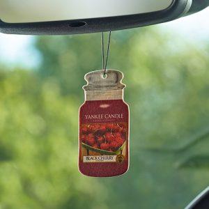 Yankee Candle Black Cherry Car Jar Air Freshener