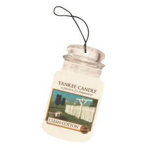 Yankee Candle Clean Cotton Car Jar Air Freshener