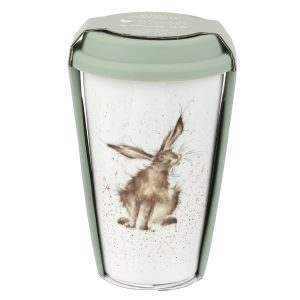 Wrendale Designs Hare Travel Mug with Silicone Lid