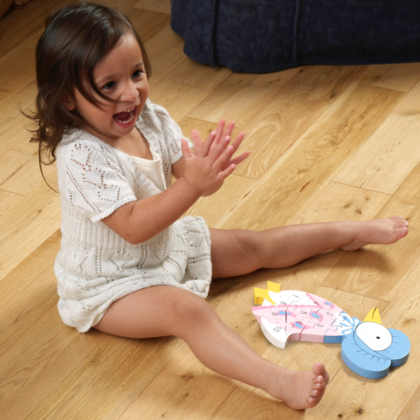 Jemima Puddle-Duck Number Puzzle - Orange Tree Toys