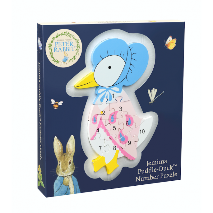 Jemima Puddle-Duck Number Puzzle - Orange Tree Toys