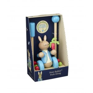 Peter Rabbit Wooden Push Along (Boxed) - Orange Tree Toys
