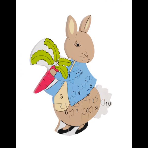 Peter Rabbit Number Puzzle - Orange Tree Toys