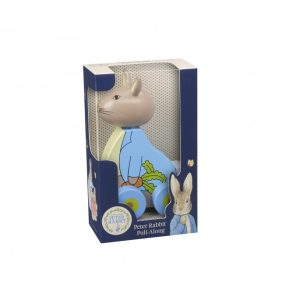 Peter Rabbit Wooden Pull Along - Orange Tree Toys