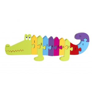 Crocodile Number Puzzle - Orange Tree Toys