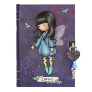 Santoro Gorjuss Lockable Journal - Bubble Fairy