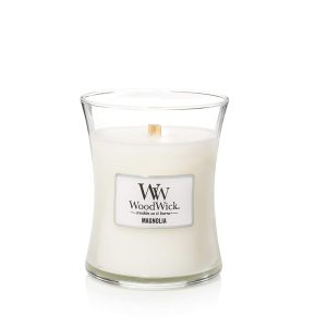 WoodWick Magnolia Medium Hourglass Candle, 658g
