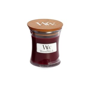Woodwick Black Cherry Mini Hourglass Candle, 272g