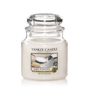 Baby Powder - Yankee Candle - Medium Jar