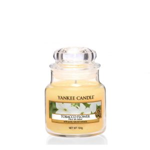 Yankee candle small jar tobacco flower 104g