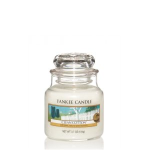 Clean Cotton - Yankee Candle - Small Jar, 104g