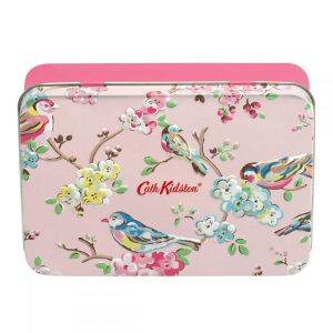 Cath Kidston - Blossom Birds Pink Hand & Lip Tin