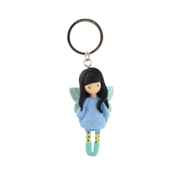 Santoro Gorjuss Moulded Key Ring Bubble Fairy