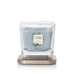 Yankee Candle Elevation Collection – Coastal Cypress - Small 1-Wick Square Candle