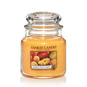 Peach Mango Salsa – Yankee Candle – Medium Jar, 411g
