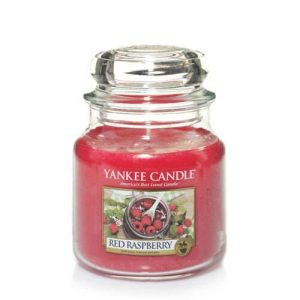 Red Raspberry – Yankee Candle – Medium Jar, 411g