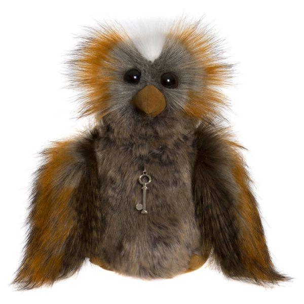 Wanda Owl – Charlie Bears Plush CB175188