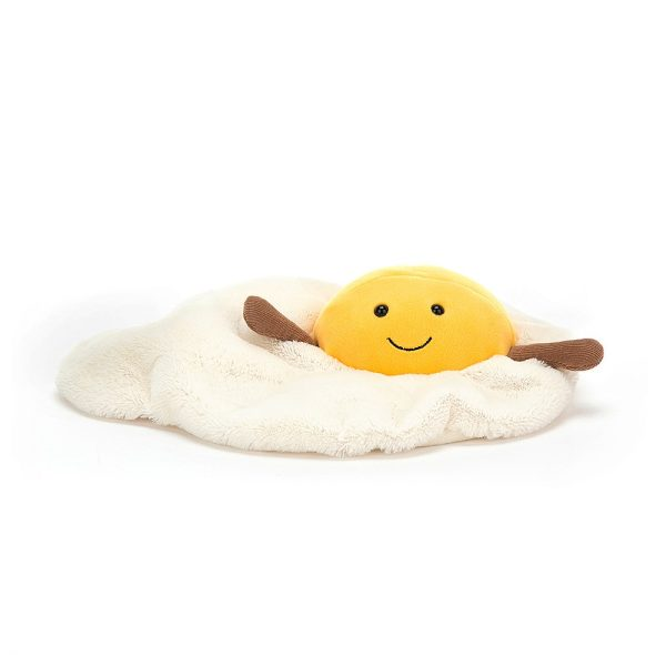 Jellycat Amuseable Fried Egg, 25 cm