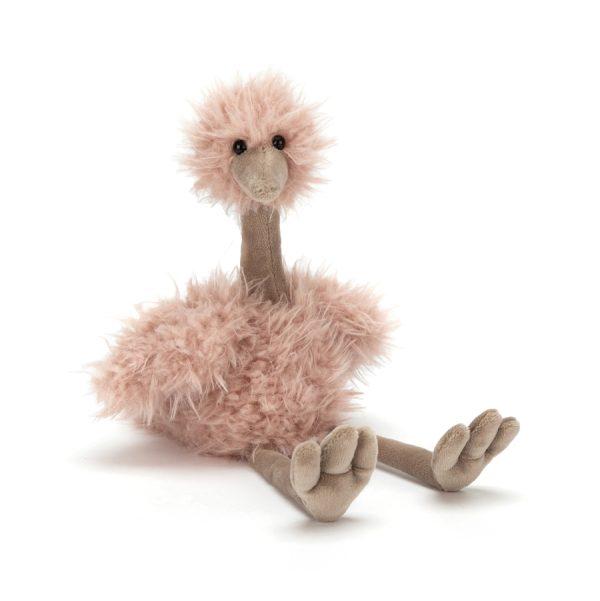 Jellycat - Bonbon Ostrich, 25 cm