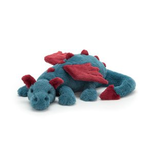 Jellycat Dexter Dragon - Medium, 12 x 50 cm