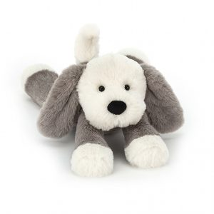 Jellycat Smudge Puppy – Medium, 34 cm