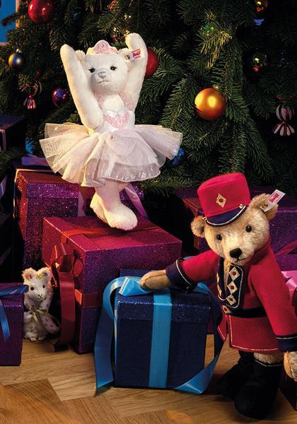 Steiff Nutcracker Teddy Bear - Limited Edition EAN 006876 Steiff Sugar Plum Fairy Teddy Bear - Limited Edition EAN 006869