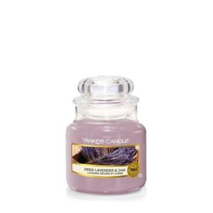 Yankee Candle Dried Lavender and Oak Small Jar, 104g