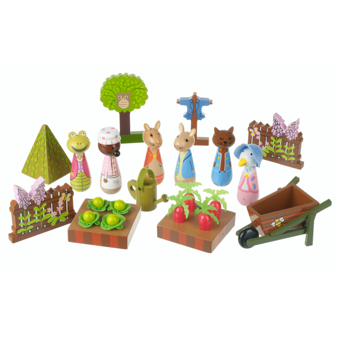 Peter Rabbit Play Set - Orange Tree Toys
