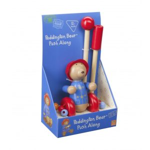 Paddington Bear Wooden Push Along (Boxed) - Orange Tree Toys