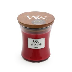 WoodWick Currant Medium Hourglass Candle, 658g