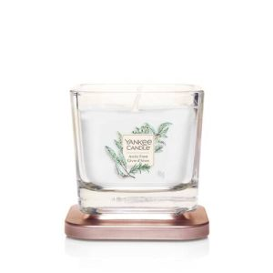 Yankee Candle Elevation Collection - Arctic Frost - Small 1-Wick Square Candle