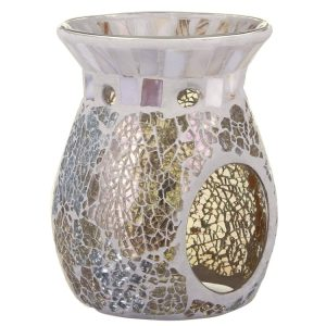 Yankee Candle Gold & Pearl Mosaic Wax Melt Warmer