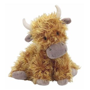 Jellycat Truffles Highland Cow – Medium, 23 cm