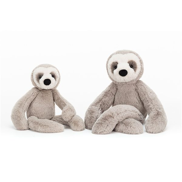Jellycat Bailey Sloth - Small, 33 cm