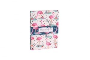 Wild Thoughts Flamingo Notebooks Set